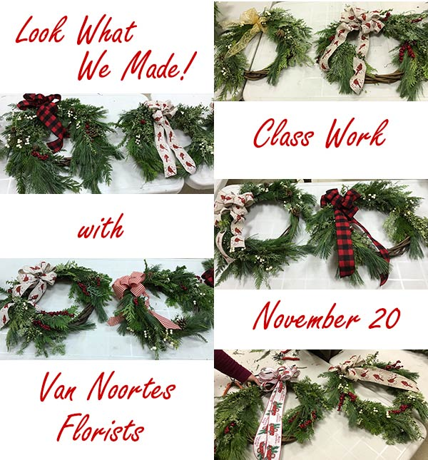 Student wreaths